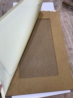 Vinyl Wrap Kitchen Doors Bubbling